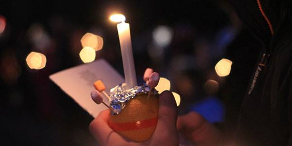 It's our Christingle Service this Sunday.   Oranges, sweets, great singing, a short play by our fabulous guides.  Light a candle to shine in the dark, and we'll help raise money for the Children's Society as we do it.  Service starts at St Alban's at 10.15am.
