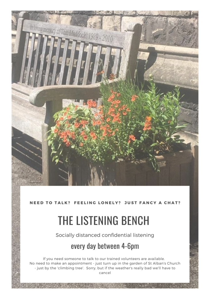 The listening Bench