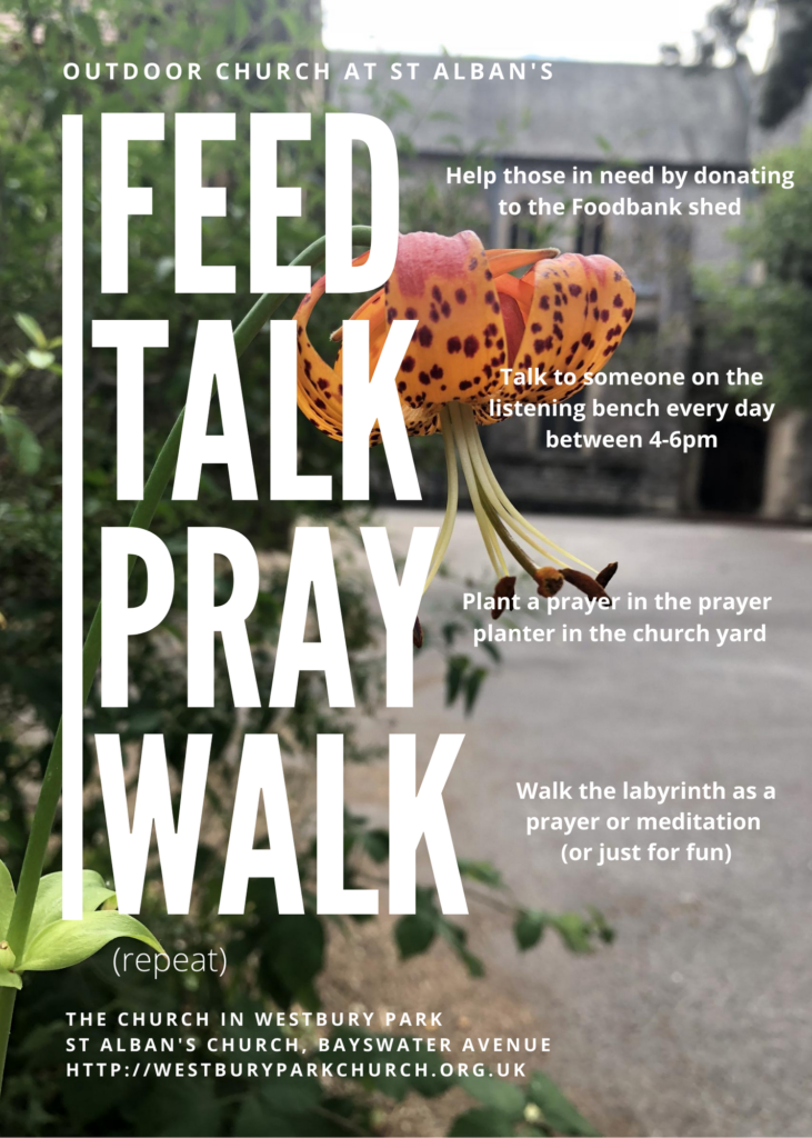 Feed, Talk, Pray, Walk
